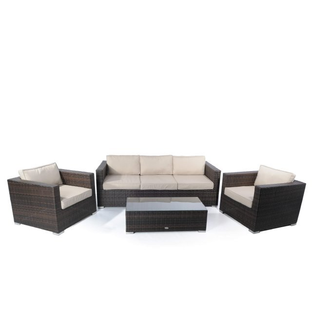 Napoli 3 seater sofa set