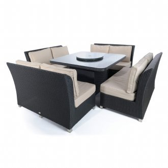 Napoli 8 seat dining set