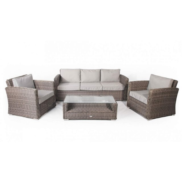 roma 3 seater sofa set