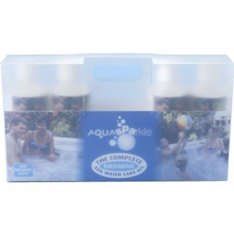 AquaSParkle Complete Bromine spa water care kit